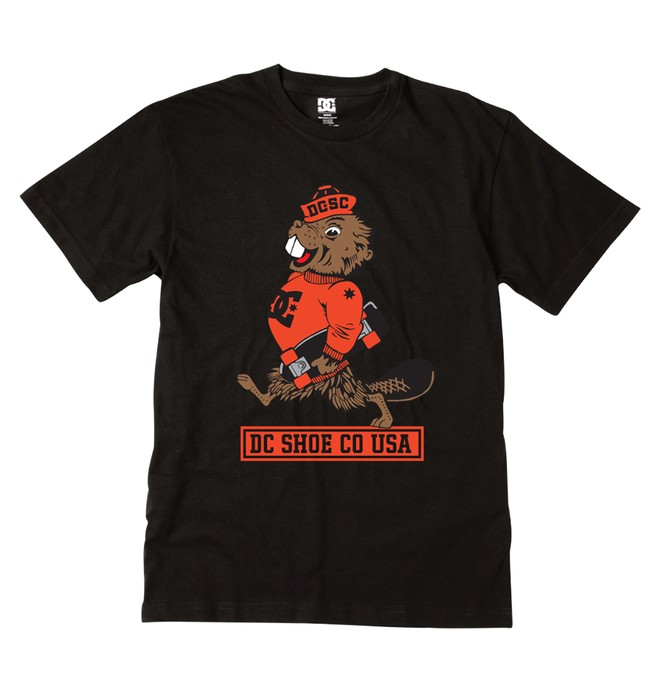 0 Kid's Beeaverskate By Tee  ADKZT00106 DC Shoes