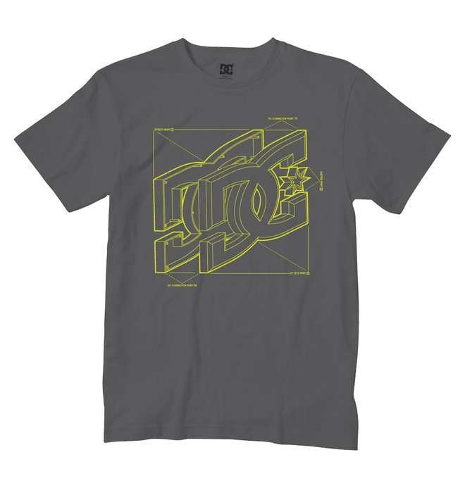 0 Kid's Schematics Tee  ADKZT00127 DC Shoes
