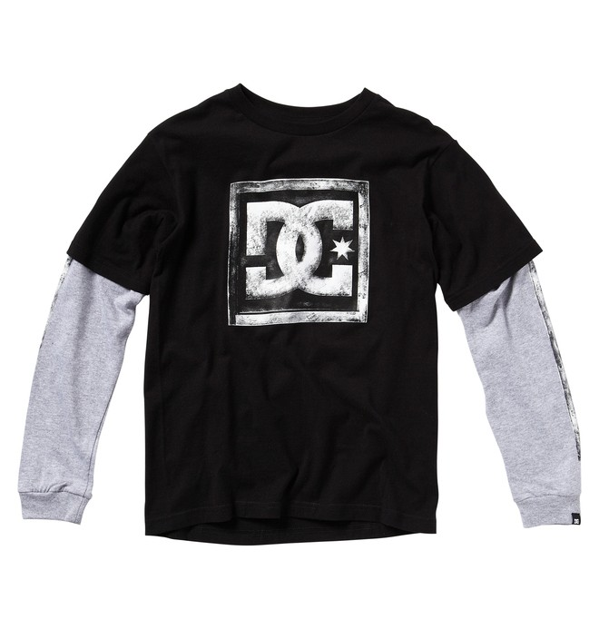0 Kid's HARVEST 2FER KD Tee  ADKZT00134 DC Shoes