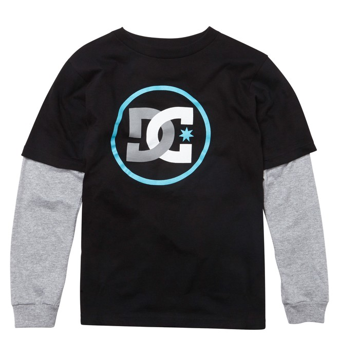 0 Kid's Track 2Fer Tee  ADKZT00135 DC Shoes
