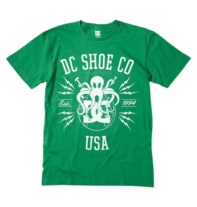 0 Boy's Octoworld Tee  ADKZT00152 DC Shoes