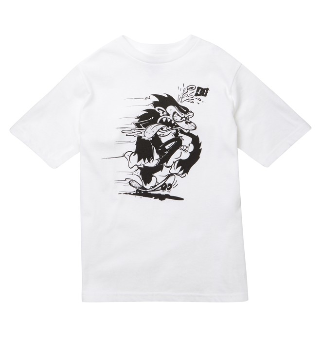 0 Kid's Skate Monkey Tee  ADKZT00170 DC Shoes