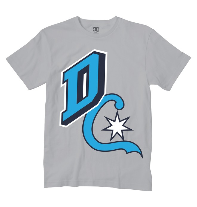 0 Boy's Boulder Tee  ADKZT00239 DC Shoes