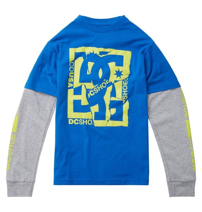 0 Boys DCRips 2Fer Tee  ADKZT00255 DC Shoes