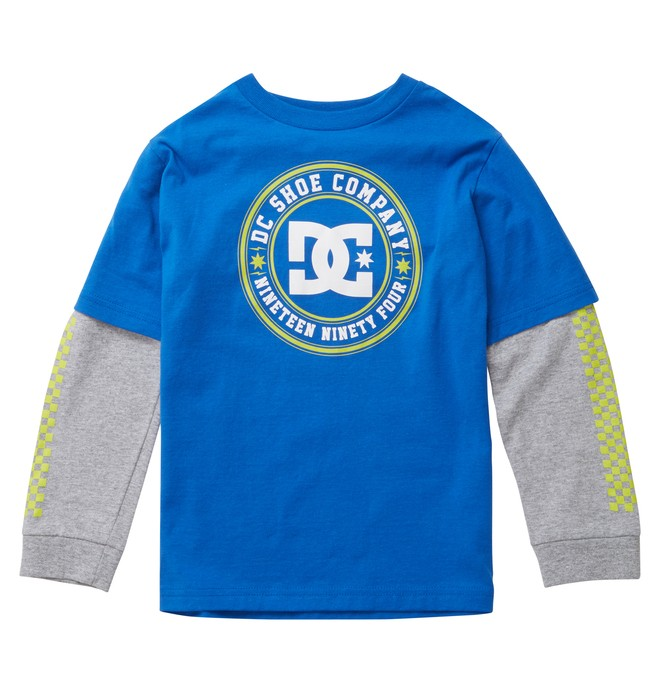 0 Kid's Header 2Fer Tee  ADKZT00270 DC Shoes