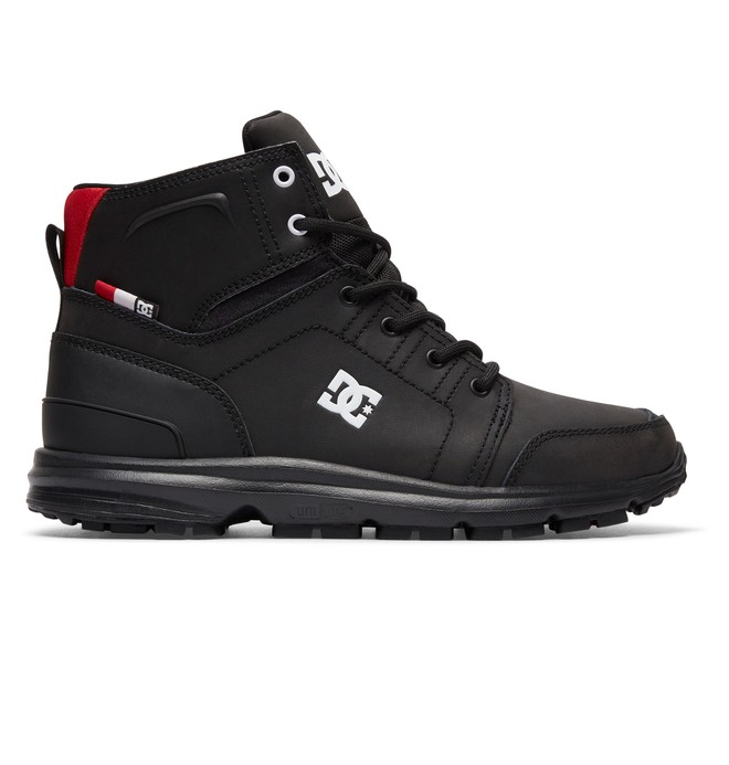 0 Men's Torstein Mountain Boots Black ADMB700008 DC Shoes