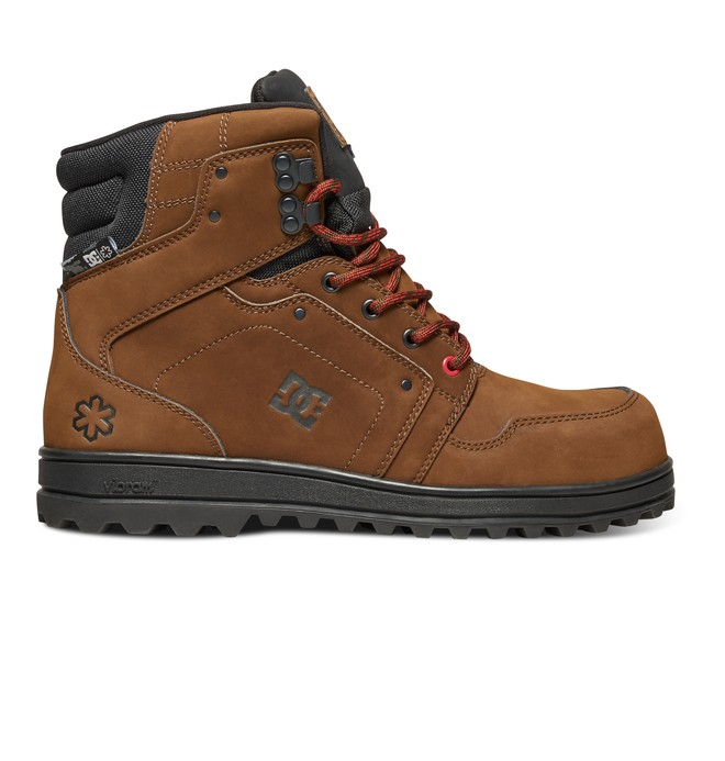 0 Men's SPT Mountain Work Boots Brown ADMB700011 DC Shoes