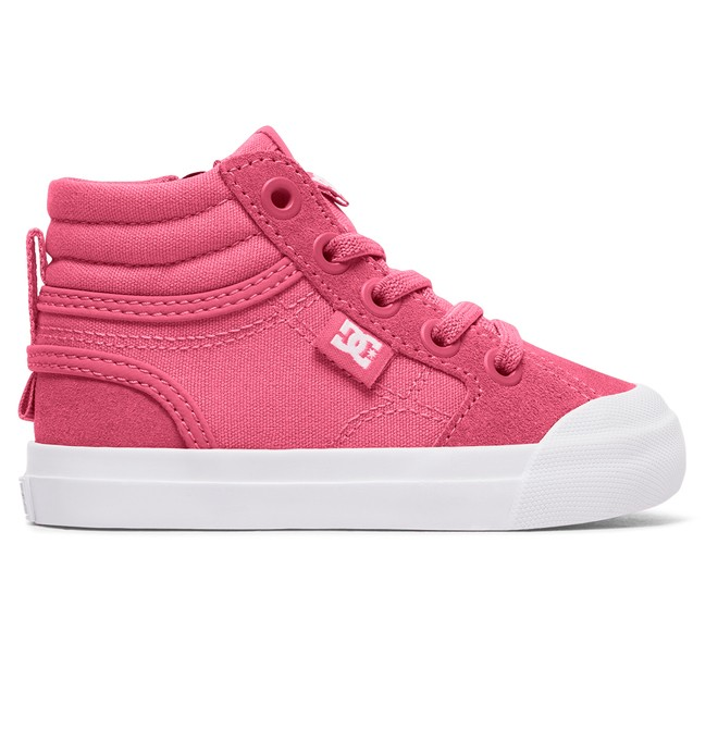 0 Evan Hi - Chaussures montantes Rose ADOS300025 DC Shoes