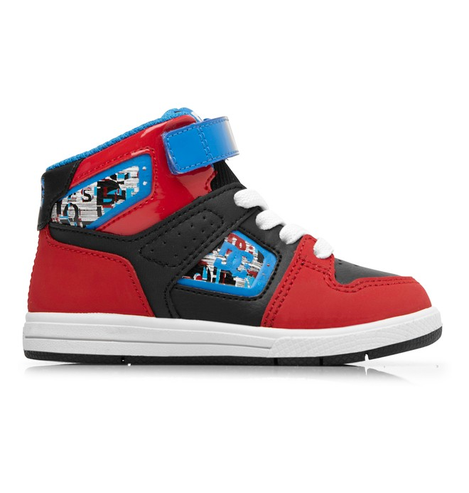 0 Toddler's Destroyer High SE Shoes Red ADTS100009 DC Shoes