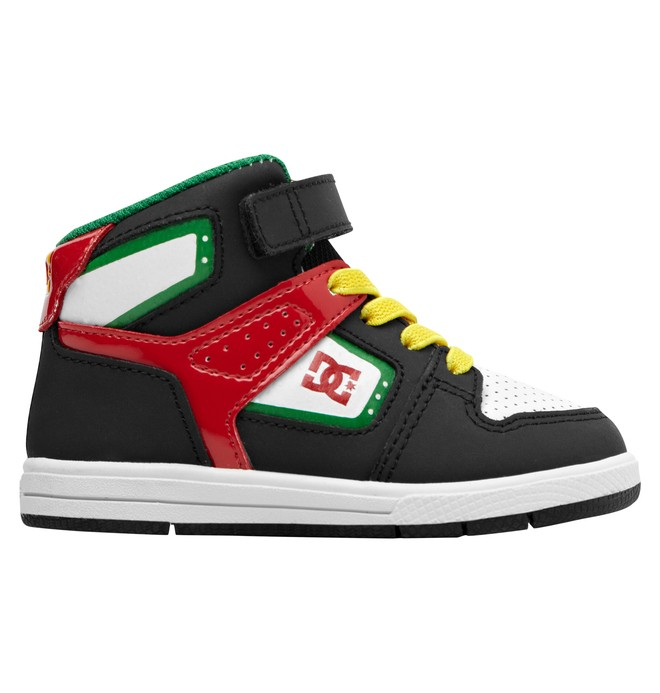 0 Toddler's Destroyer High SE Shoes  ADTS100009 DC Shoes