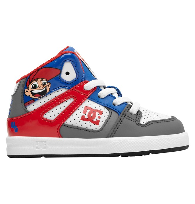 0 Todder's Wild Grinders Rebound UL Shoes Grey ADTS700014 DC Shoes