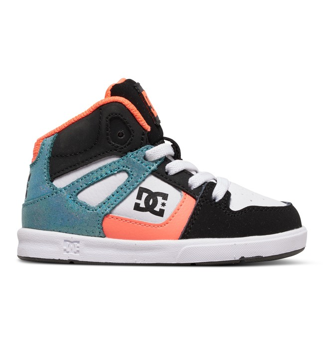 0 Rebound SE UL - Chaussures montantes Orange ADTS700021 DC Shoes