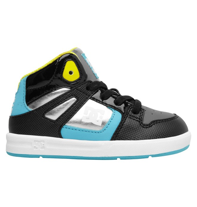 0 Toddler's Rebound SE UL High-Top Shoes Blue ADTS700021 DC Shoes