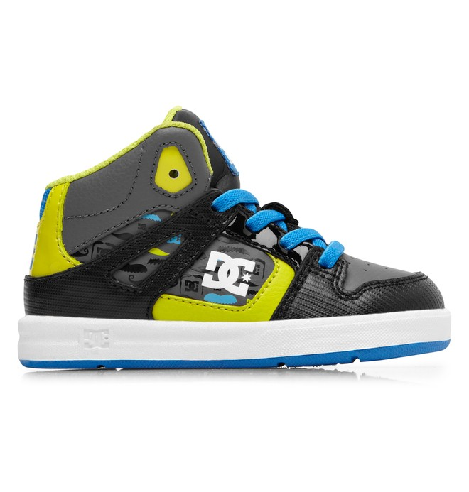 0 Toddler's Rebound SE UL High-Top Shoes Black ADTS700021 DC Shoes