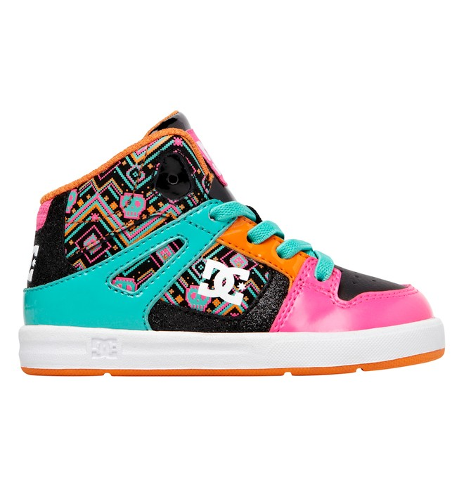 0 Toddler's Rebound SE UL High-Top Shoes Pink ADTS700021 DC Shoes