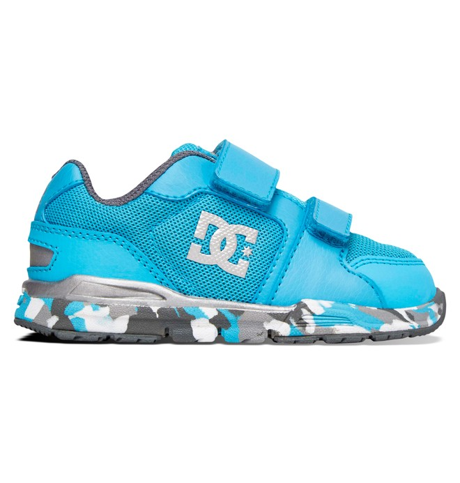 0 Toddler's Forter V Shoes Blue ADTS700030 DC Shoes