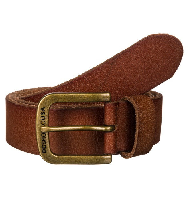0 Archetype Belt Brown ADYAA00086 DC Shoes