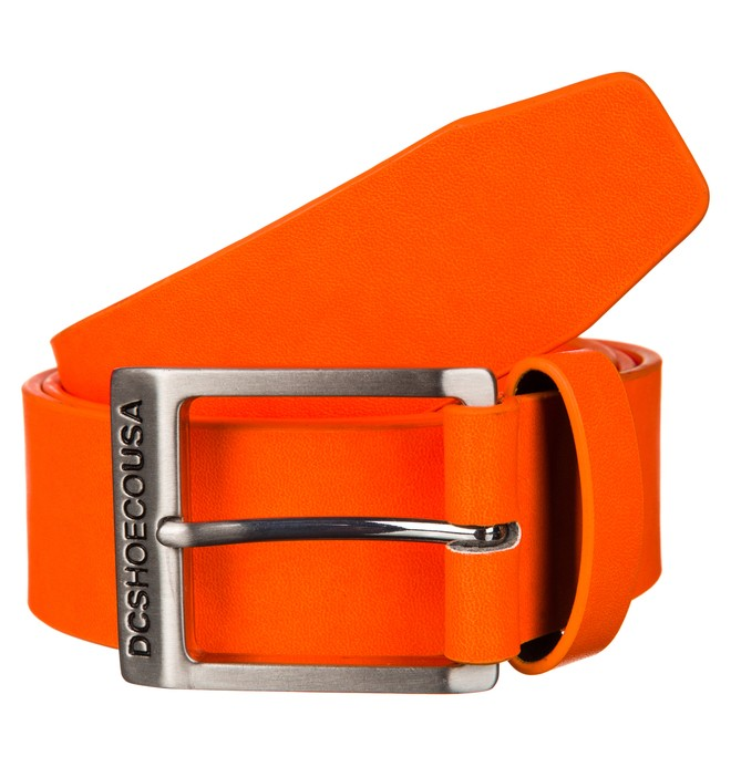0 Men's DC Banner Belt Orange ADYAA00089 DC Shoes