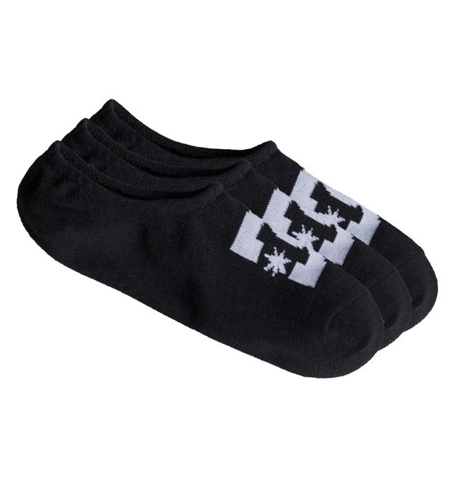 0 DC - Pack de 3 Sockettes Noir ADYAA03048 DC Shoes