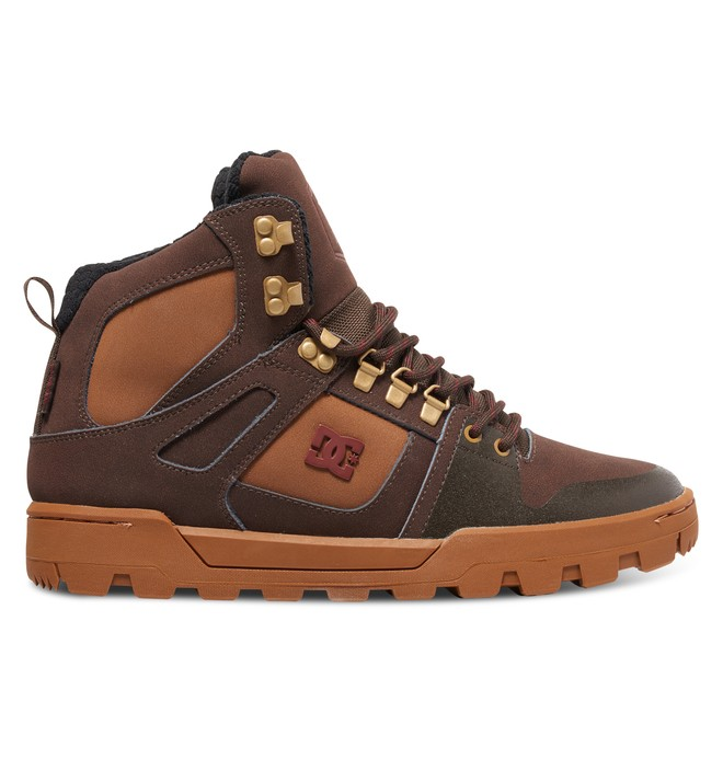 0 Pure High WR Boot - Stiefel Braun ADYB100001 DC Shoes