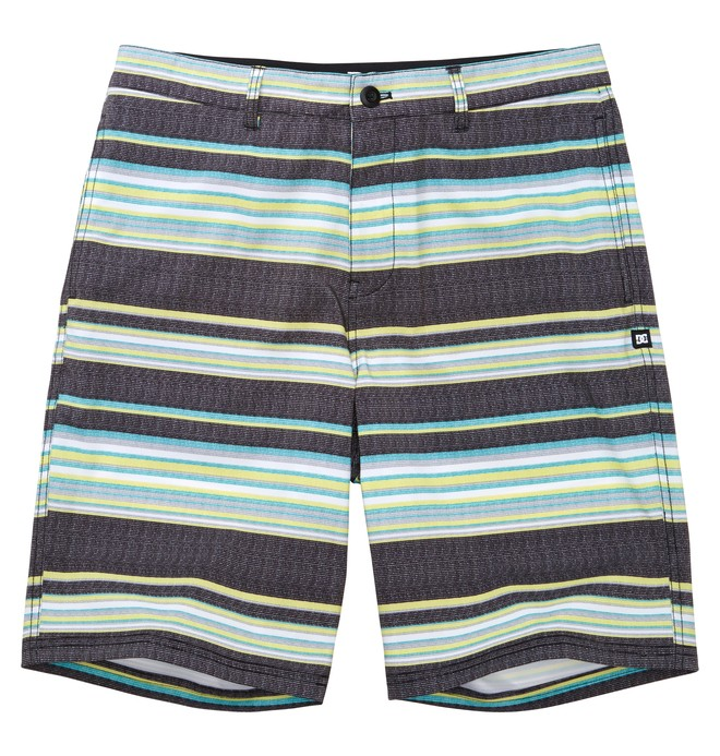 0 Men's Blindside Hybrid Boardshorts Black ADYBS00050 DC Shoes