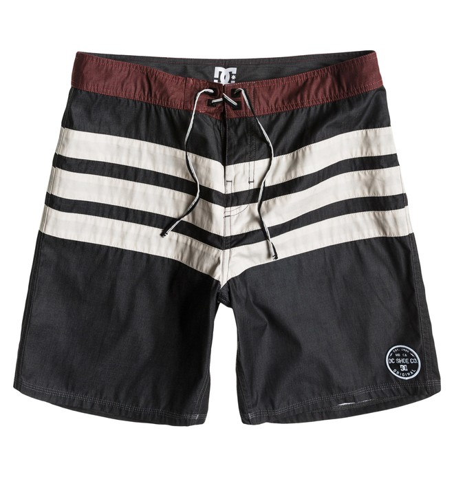 0 Men's Hamilton Boardshorts Black ADYBS00051 DC Shoes