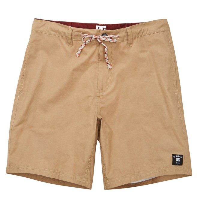 0 Men's Boardwalk Hybrid Shorts Brown ADYBS00053 DC Shoes