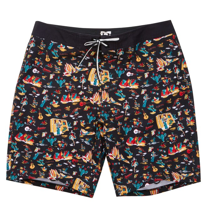 0 Men's Fiesta Boardshorts Black ADYBS00062 DC Shoes