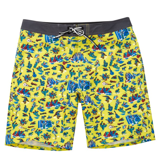 0 Men's Fiesta Boardshorts Yellow ADYBS00062 DC Shoes