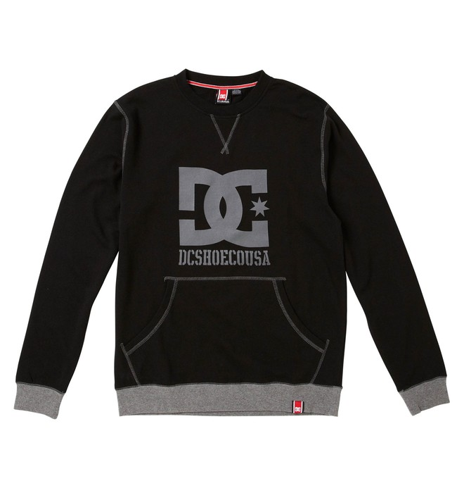 0 Men's Rob Dyrdek Official Crew-Neck Sweatshirt  ADYFT00015 DC Shoes