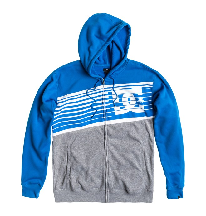 0 Men's Go Big Full Zip Sweatshirt  ADYFT00076 DC Shoes