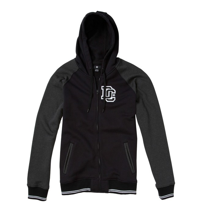 0 Men's District Full Zip Sweatshirt  ADYFT00078 DC Shoes