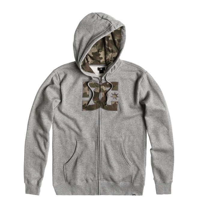 0 Men's Hookup Full Zip Hoodie  ADYFT00083 DC Shoes