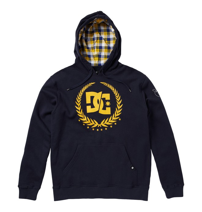 0 Men's Travis Pastrana Split Star Sweatshirt  ADYFT00089 DC Shoes