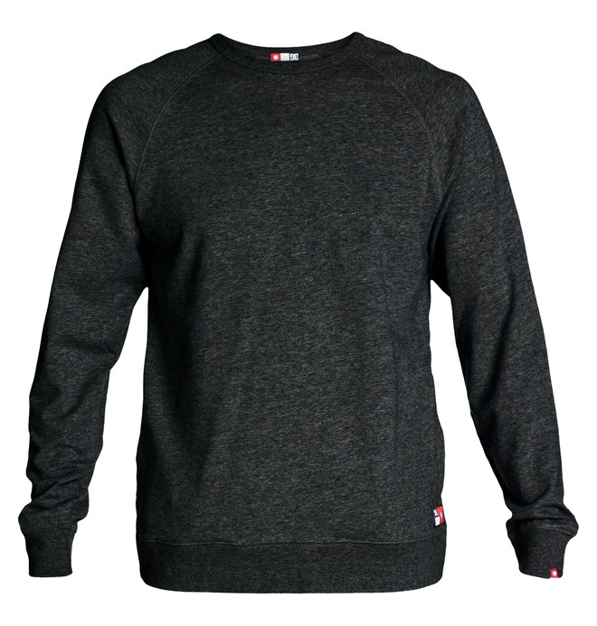 0 Men's Core Crew Sweatshirt Black ADYFT00100 DC Shoes