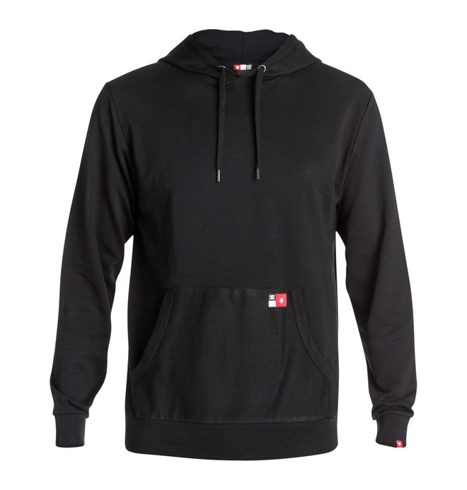 0 Men's Core Pullover Sweatshirt Black ADYFT00102 DC Shoes