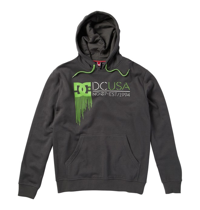 0 Men's Rob Dyrdek Highlight State Sweatshirt Black ADYFT00104 DC Shoes