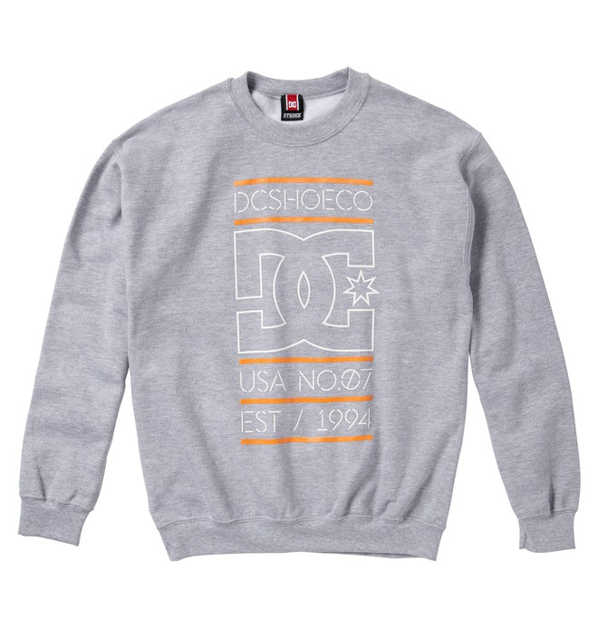0 Men's Rob Dyrdek Highlight Stacked Sweatshirt  ADYFT00105 DC Shoes