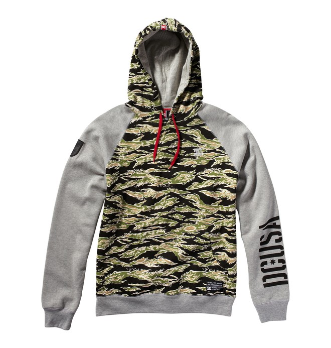 0 Men's RD Unit PO Fleece  ADYFT00143 DC Shoes
