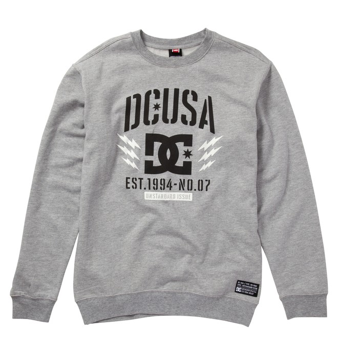 0 Men's Rob Dyrdek BOLTS CREW Fleece  ADYFT00152 DC Shoes