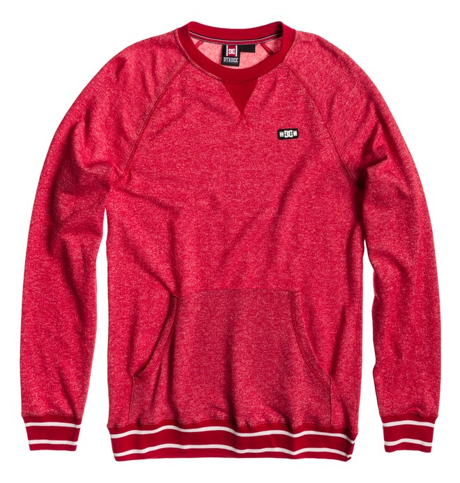 0 Men's Rob Dyrdek Official 2 Sweatshirt Red ADYFT00193 DC Shoes