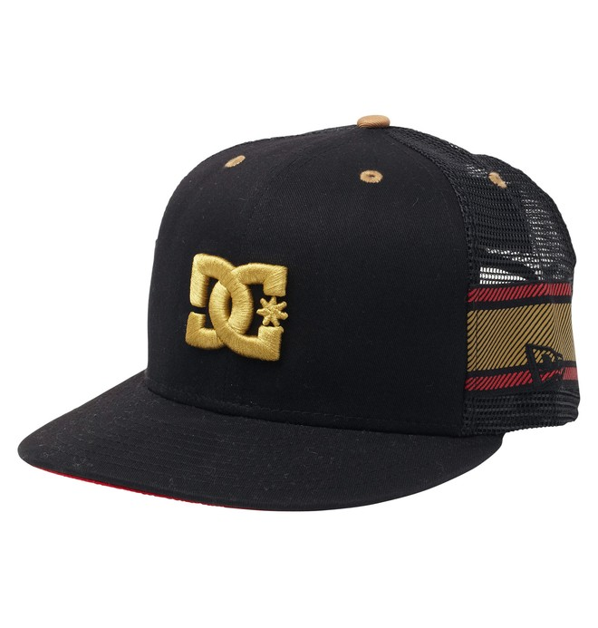 RD LUX STRIPE HAT Black ADYHA00031