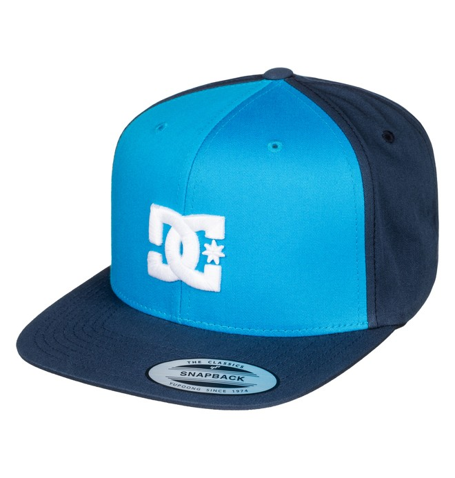0 Snappy - Snapback Cap Blue ADYHA00058 DC Shoes