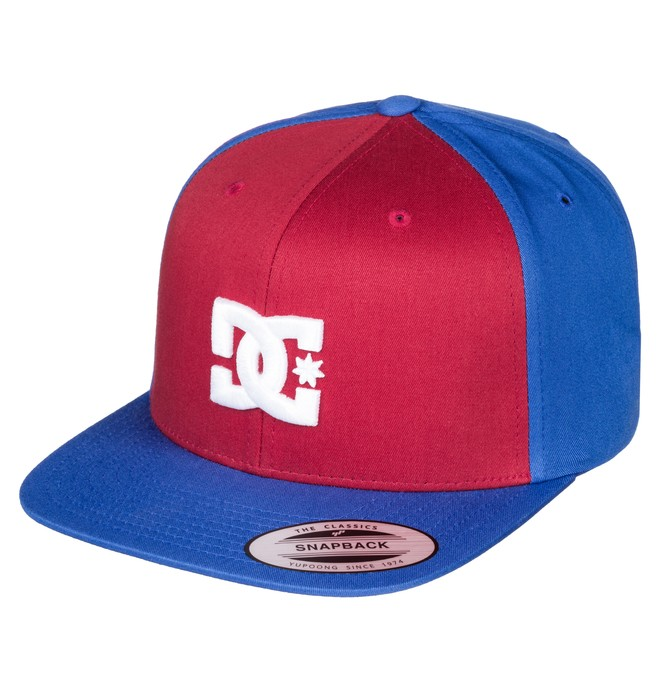 0 Men's Snappy Hat Red ADYHA00058 DC Shoes