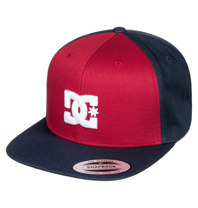 0 Snappy - Snapback Cap Red ADYHA00058 DC Shoes