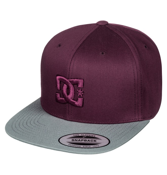 0 Men's Snappy Snapback Hat  ADYHA00058 DC Shoes
