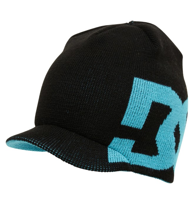 0 Men's Cascata Reversible Visor Beanie  ADYHA00096 DC Shoes