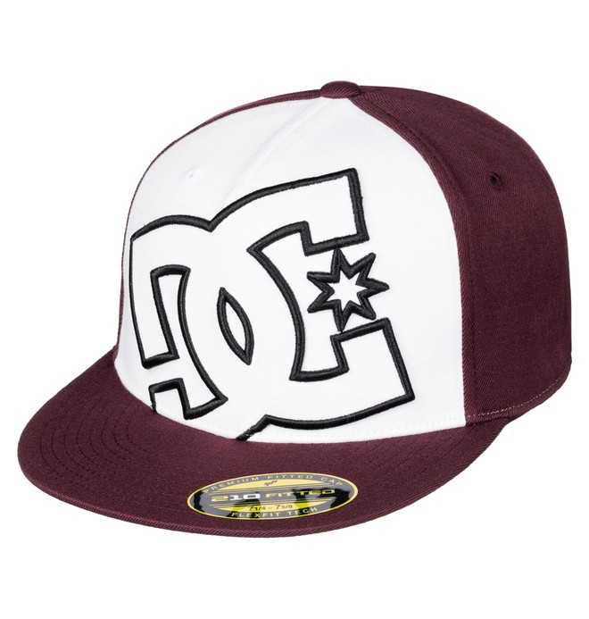 0 Ya Heard - Flexfit Cap White ADYHA00141 DC Shoes