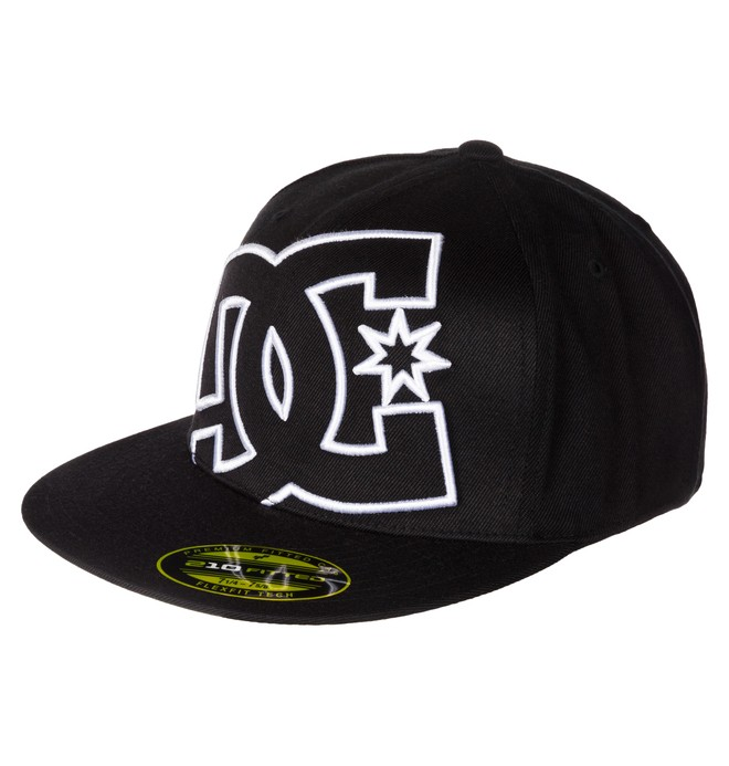 0 Ya Heard - Flexfit Cap Black ADYHA00141 DC Shoes