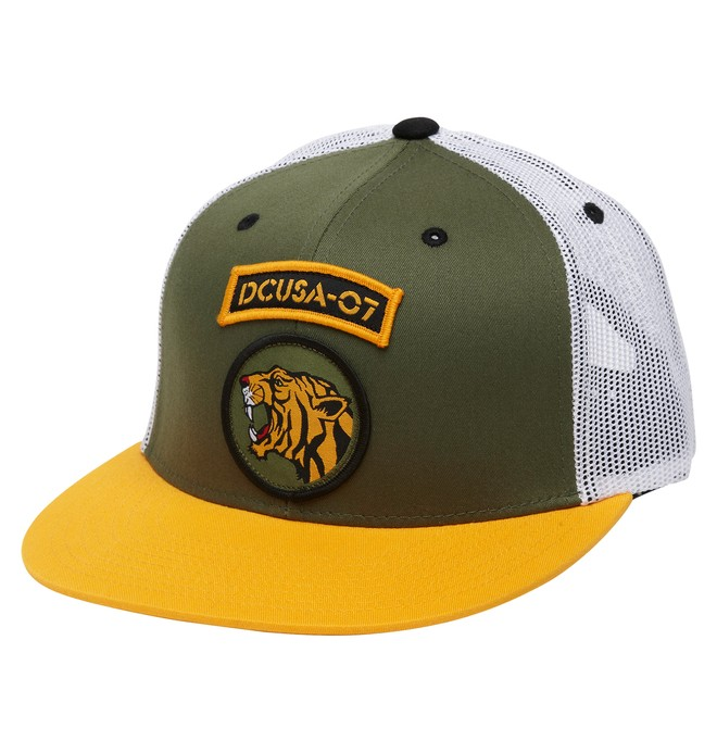 0 Men's Rob Dyrdek Jungle Trucker Hat  ADYHA00172 DC Shoes